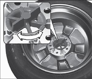 Запасное колесо Kia Soul